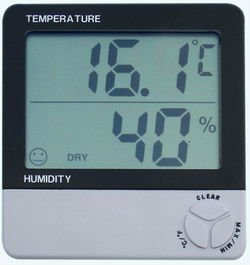 TTH801 Digital thermometer and hygrometer