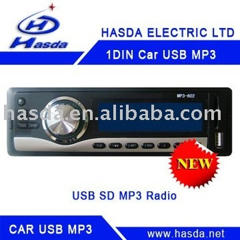 CAR stereo MP3 PLAYER with radio