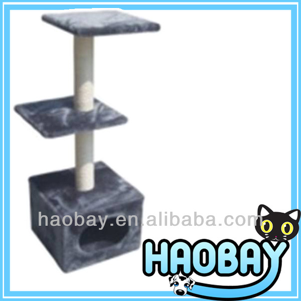 Trilevel Manufacturer Cat and Pet Products Cat Scratching Post