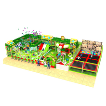 Large size tunnel kids plastic tube slide indoor playground with rock climbing