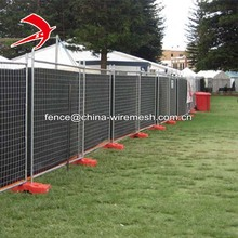 Australia temporary fence made in China 2.4x2.1m galvanized temporary fence