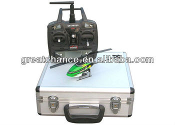 Aluminum Carry Case hold helicopter