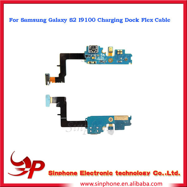 Original Replacement Part For Samsung Galaxy S2 i9100 Dock Connector Charging Port Flex Cable Ribbon
