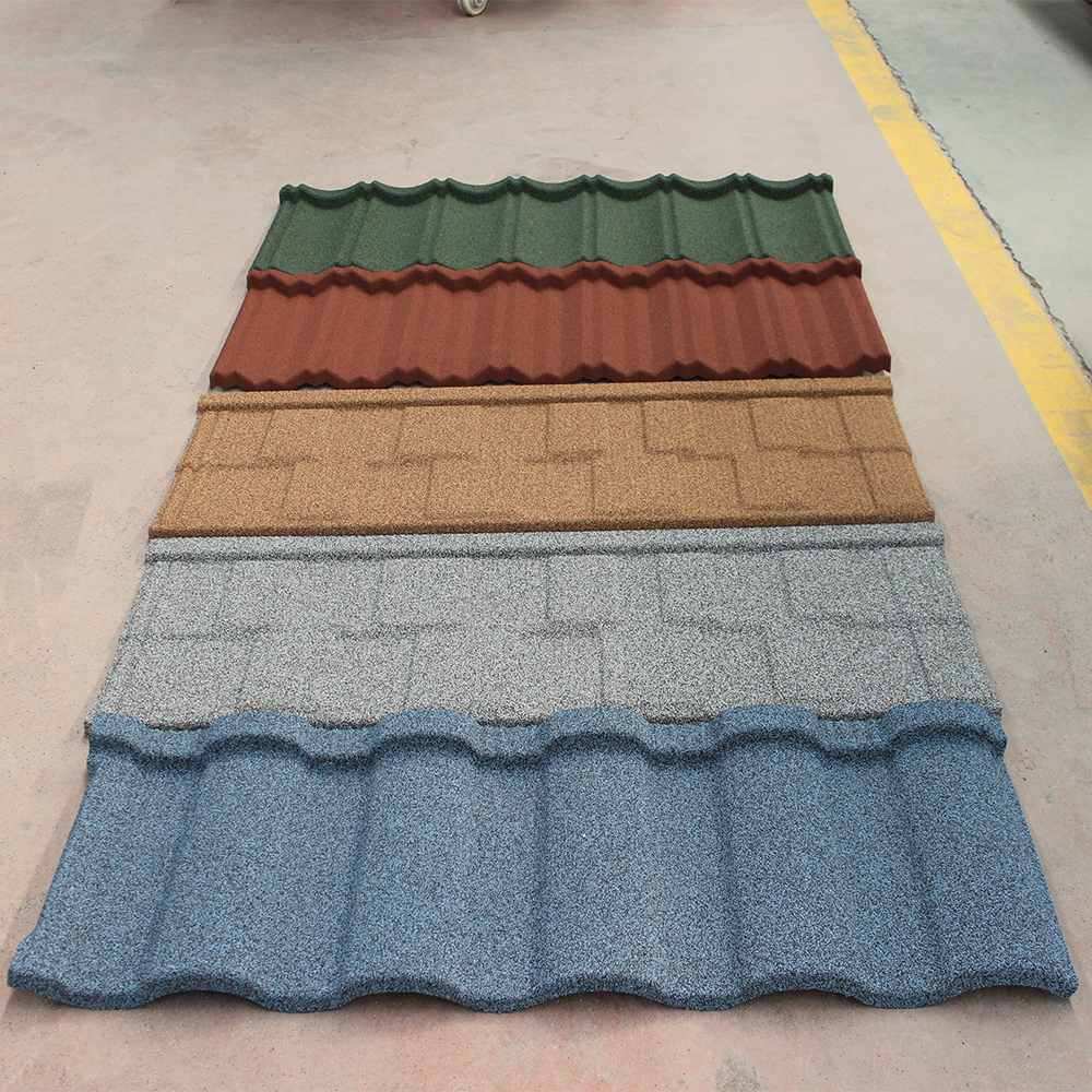 Overlapping and interlocking system shingle steel roof tile