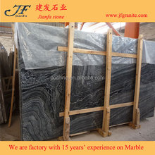 White With Black Veins China Tree Black Wood Grain Marble