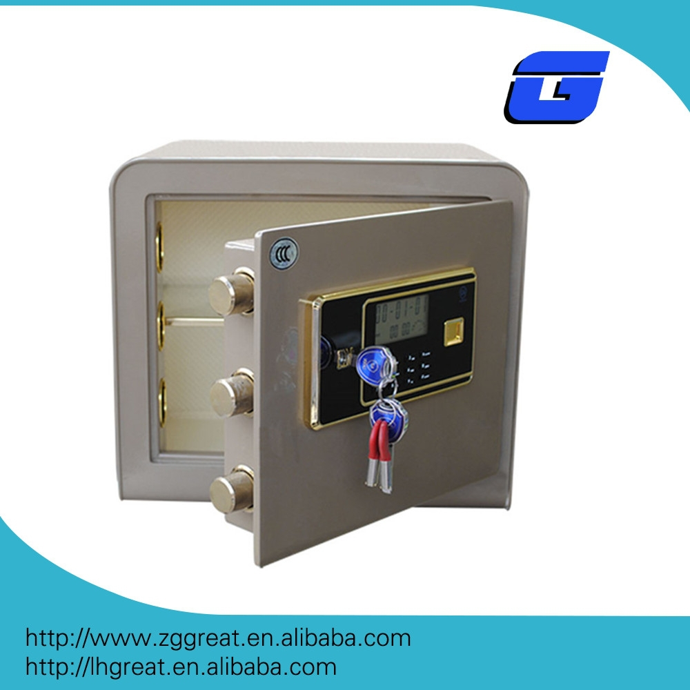 digital electronic mini fireproof timed lock safe box