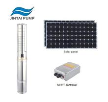 3 HP solar submersible water pump system for agriculture irrigation