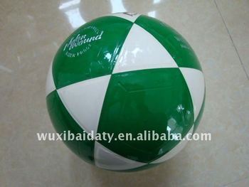 PVC,PU laminated soccer ball