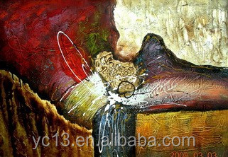 100%handmade high qualtiy abstract oil paintings