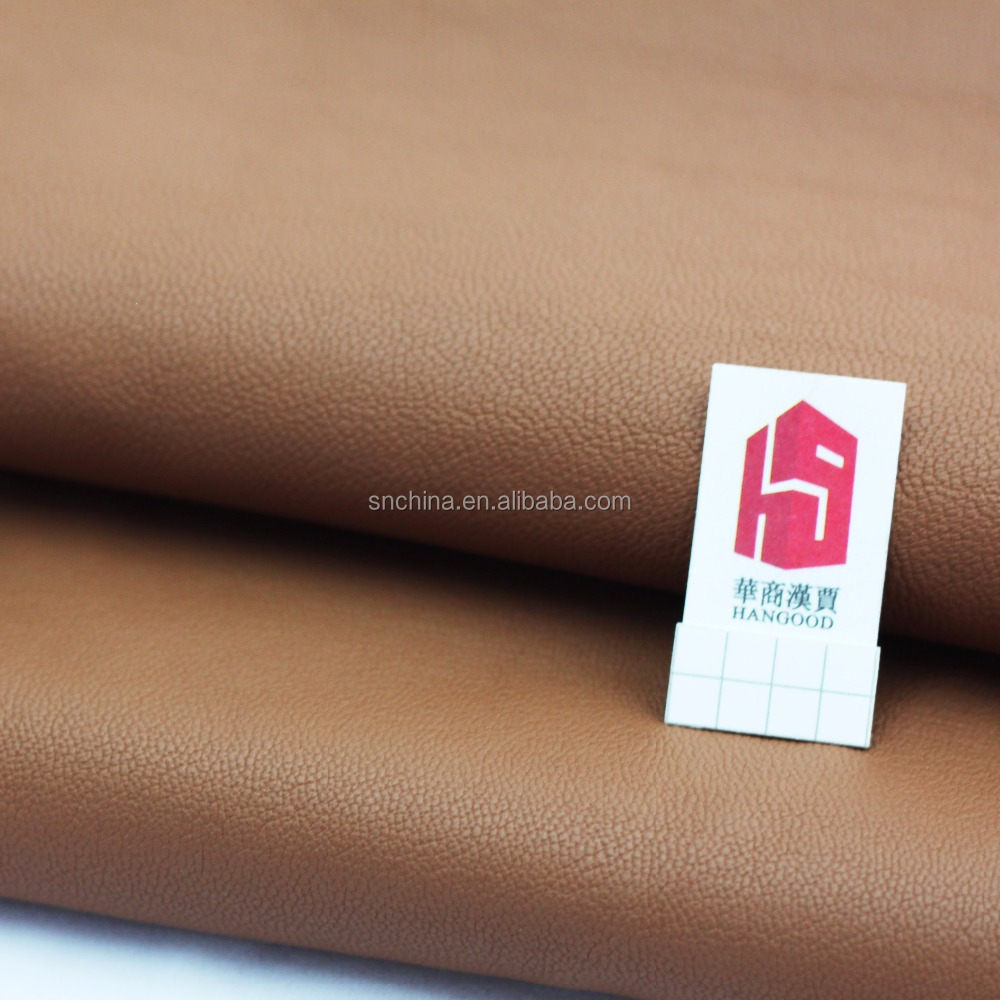 pu artificial leather leather fabric finished leather