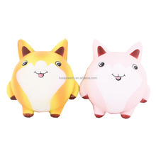 13CM Soft PU foam squishy slow rising cut fox cartoon gifts children adult hand squeeze stress relief toys SQL011