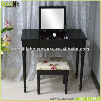 Wooden carving dressing table dress design from China