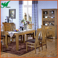 Cheap Wooden Dining table and chair set
