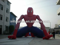 inflatable spider man for advertising, inflatable cartoon toy