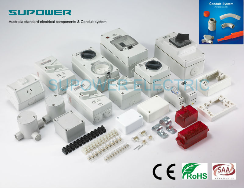 Australian 35A Single Screw Cable Connector terminal block Heat Resistant Power Wire Connectors