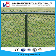 Apartment garden fence/galvanized chain link fencing