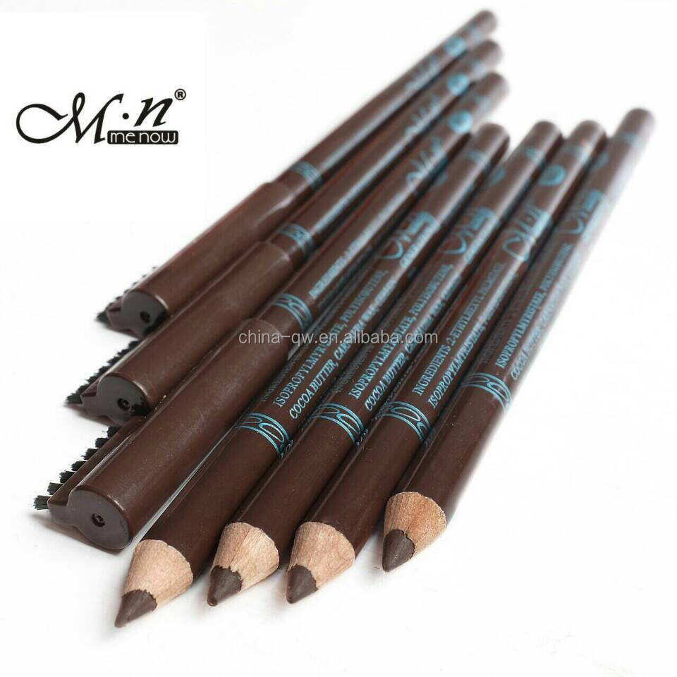 Menow P10021 makeup wooden waterproof eyebrow pencil
