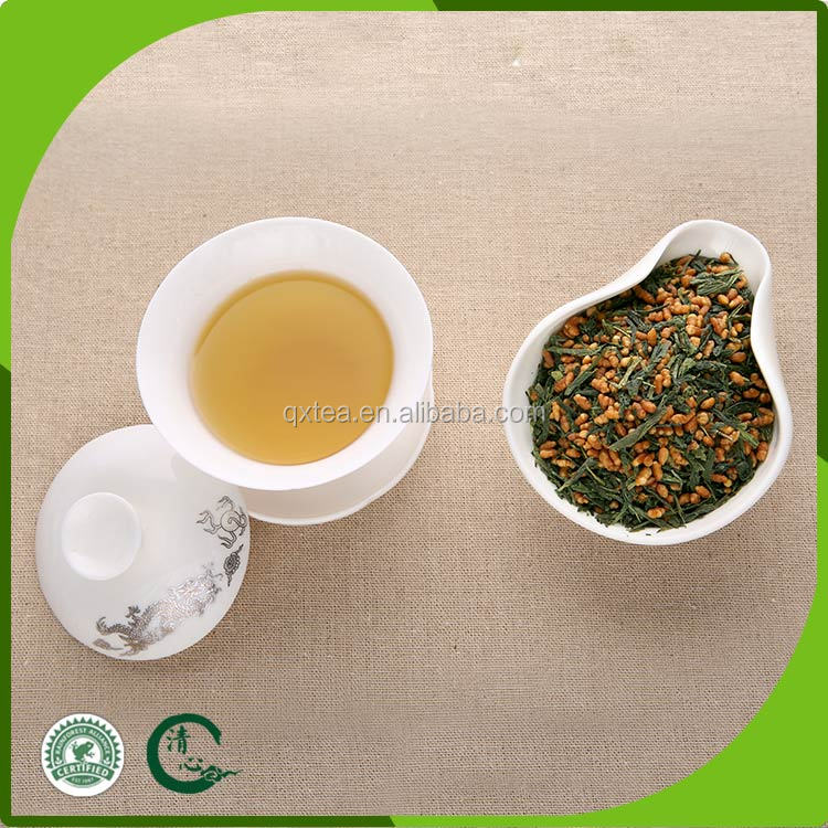 Chinese tea national certification of brown rice green tea