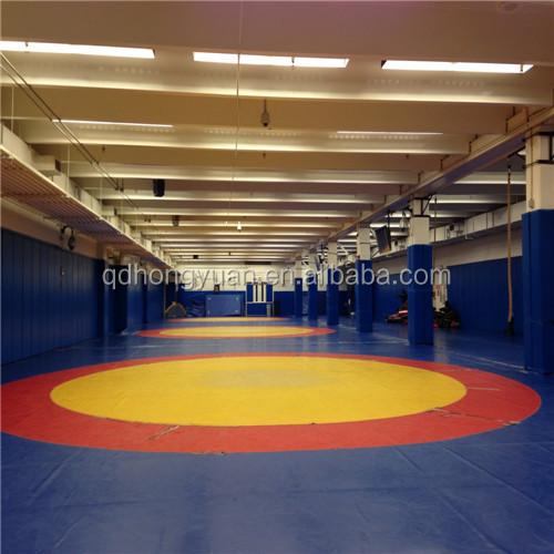 Wrestling Martial Art Style Wrestling Mats Cover