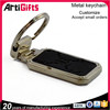 New product black blank key chain