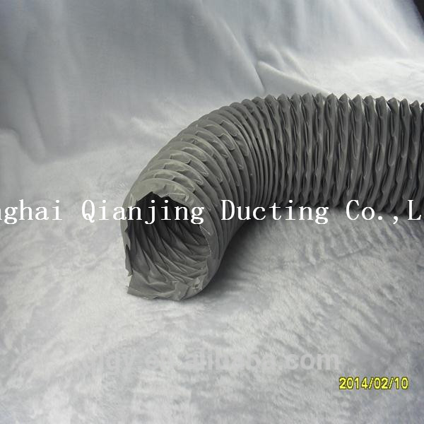 polyester fabric hvac aluminum nylon flexible duct for suction of engine exhaust gas