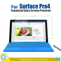 Glass-M Brand Premium Quality 9H Toughened Glass Skin for Mircosoft Surface Pro 4