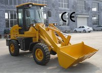 kaiwei Small wheel loader ZL10F with pallet fork