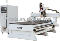 HEFEI SUDA WOOD CNC MACHINE woodworking cnc router machine MG1325D WITH ATC FUNCTION