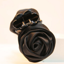 Korea Style Multicolor Cloth Art The Roses Small Hair Claw Clip