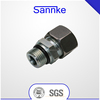 Flareless Bite Type Tube SAE O-Ring Male Straight Adapters
