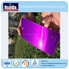 Good decorative Candy Purple pure polyester powder coating paint for Wheels