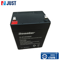 Greater vibration resistance 12v 4ah 20hr sealed lead acid deep cycle battery