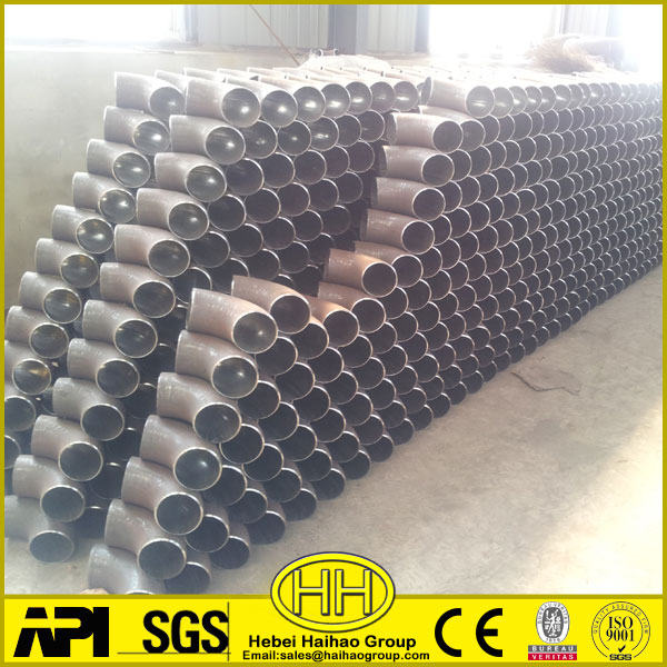 ASTM A234 WPB weld sch40 90 degrees carbon steel elbow