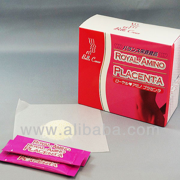 "To glamorous body Balanced for female hormones ""Royal Amino Placenta"" big breast medicine with Vitamin C Mod-4"