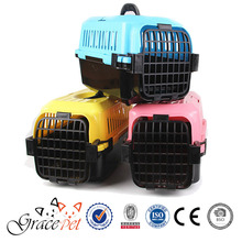 [Grace Pet] Plastic made ventilated pet carrier with handle