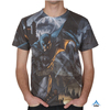Custom Sublimation Comics Tshirt All Over