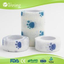 hot selling superior dogs colorful pet bandage,alibaba china quality pet roll self adhesive bandages