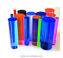 Factory Supply Colored Acrylic Rod Clear Acrylic Bubble Rod