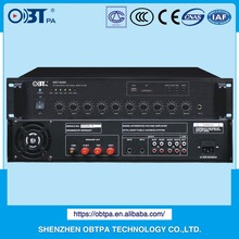 Public addressing paging system PAS intercom 650W mixer voltage amp power amplifier factory price