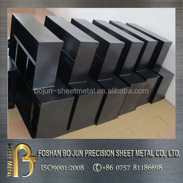 custom metal sheet processing + metal manufacturing company powder coated