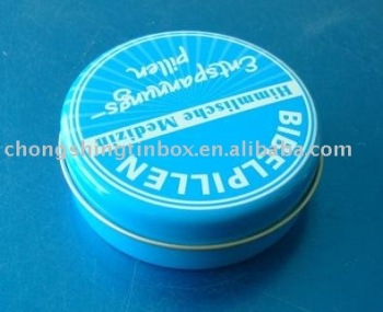 Shoe Polish Tin Box