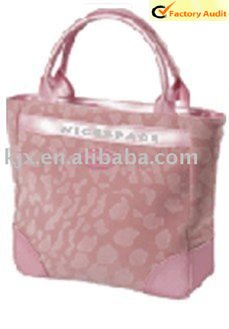 fashion pringing PVC lady handbag