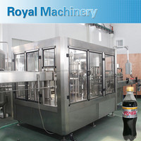 Automatic Carbonated Beverage Filling Machine In