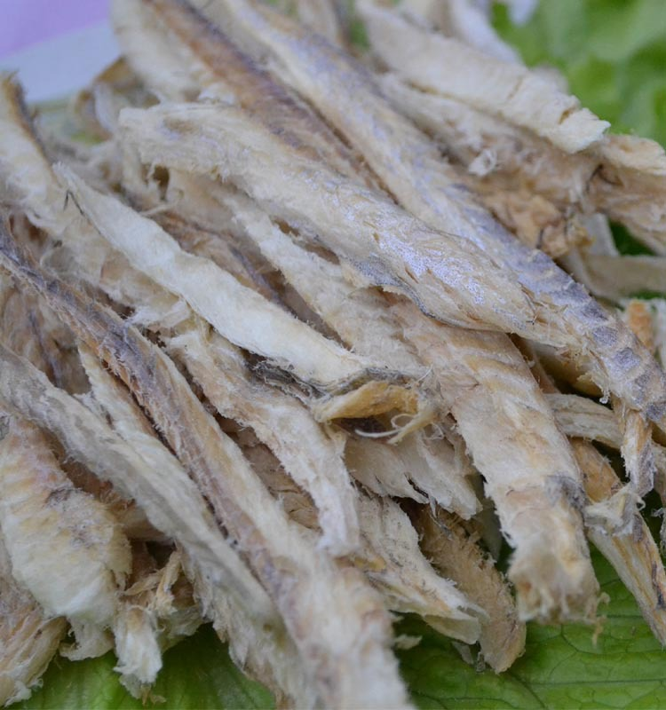 Dried fish processing,Blue cod silk