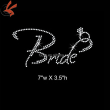Sparkly Czech quality bride bridesmaid hot fix rhinestone motif wedding dress motif