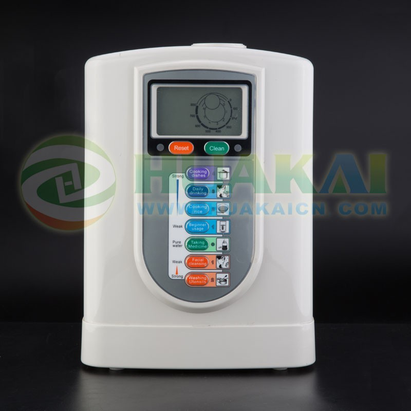 3&5 titanium plate alkalie water ionizer with top design and manufacture
