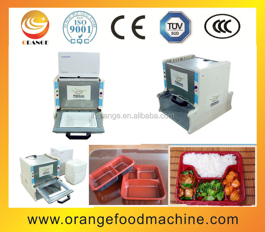 Semi automatic food tray sealer