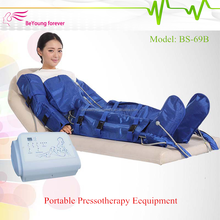BS-69B professional detox slimming massage pressotherapy / air pressure lymphatic drainage machine