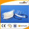 Hotel Food Industry Restaurant Sanitary Anti-fog Shield Smile Visual Transparent Reusable Plastic Face Masks