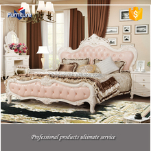 Home Furniture Pink Leather Bed Hot Sale In Dubai